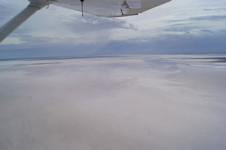 2. Looking up Kati Thanda-Lake Eyre South 21 Jan 2016