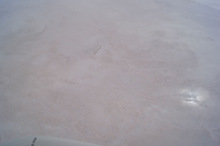 3. Salt patterns through clear water Kati Thanda-Lake Eyre South 21 Jan 2016