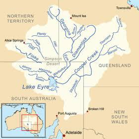 Kati Thanda Lake Eyre catchment area